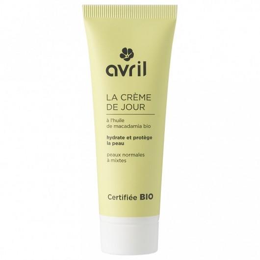 Crème de jour peaux normales et mixtes  - 50 ml - certifié bio