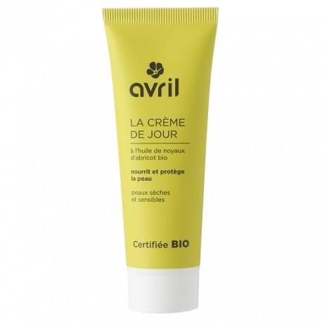 Crème de jour peaux sèches et sensibles - 50 ml - certifié bio