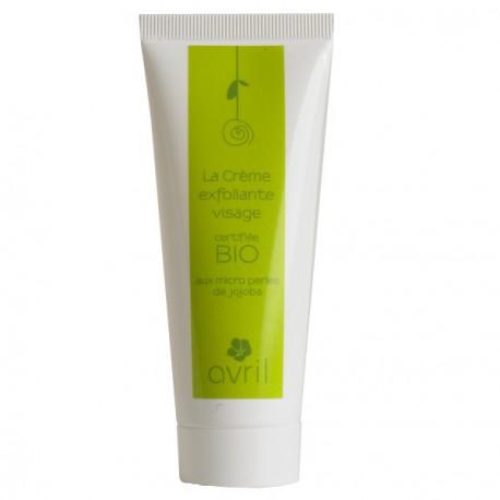 Crème exfoliante visage - 50 ml - certifié bio