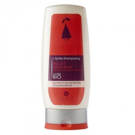 Après-shampooing  éclat couleur - 200 ml - certifié bio - Avril