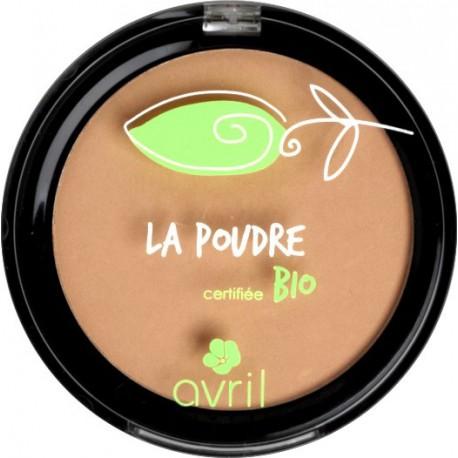 Poudre compacte Nude - certifié bio - Avril