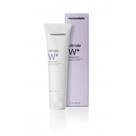 Mousse Nettoyante Visage Utimate W+ Whitening Foam