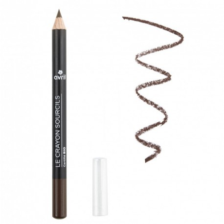 Crayon sourcils Brun - certifié Bio - Avril