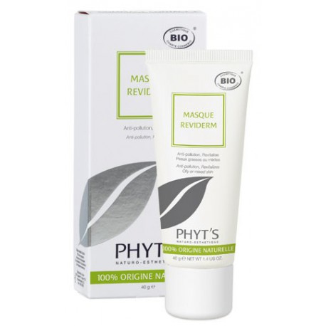 Masque Reviderm  Anti-pollution et revitalisant - PHYT'S Bio