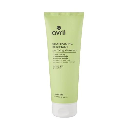 Shampooing cheveux gras a l'aloe vera bio - 300 ml - certifié bio