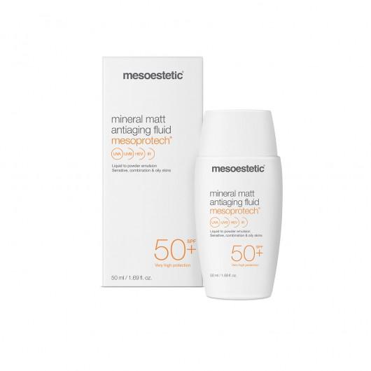 Mineral Matt Anti-Âge Fluid 50+ - Mesoprotech