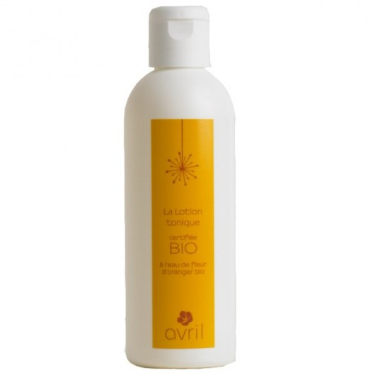 Lotion tonique - 200 ml - certifié bio - Avril