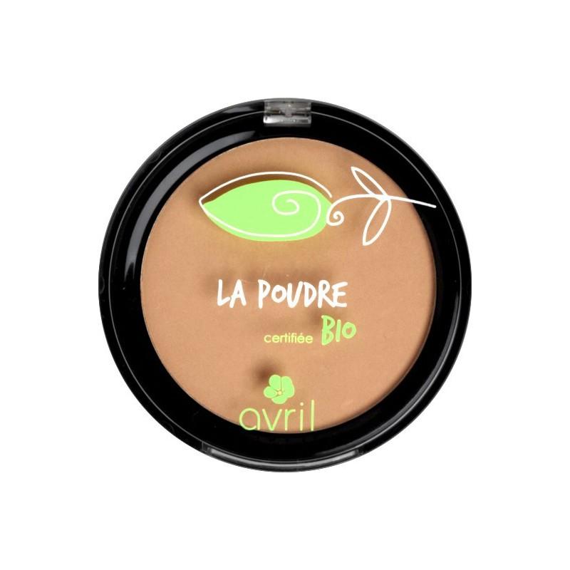 avril   maquillage   teint parfait   poudre compacte bio