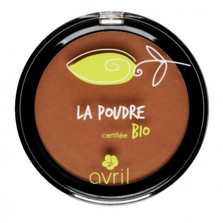 Poudre bronzante Ambrée - certifié bio - Avril