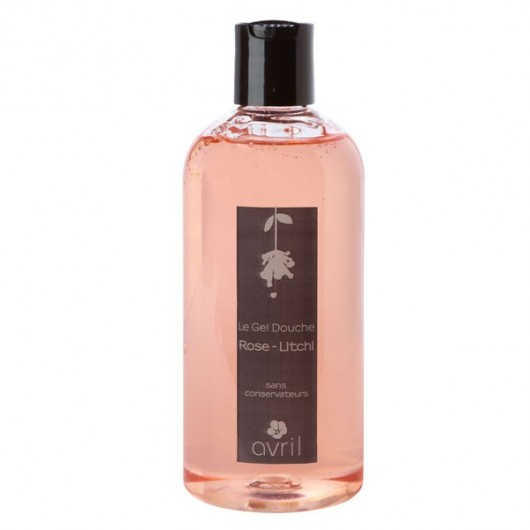 Gel douche Rose-Litchi - 500 ml - Avril