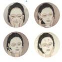 Masque tissu au collagène et vitamine E - Mask with collagen and vitamin E - Dermobio