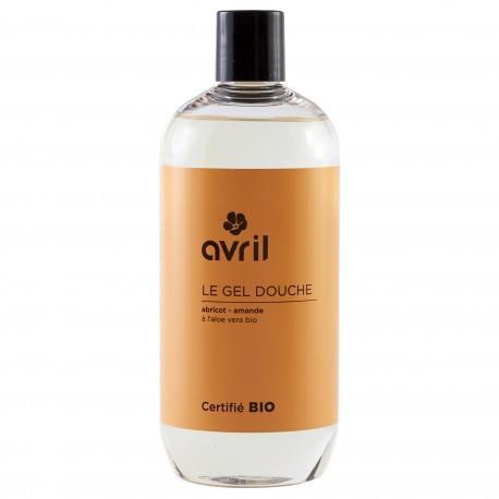 Gel douche Amande - Abricot - 500 ml - Certifié Bio