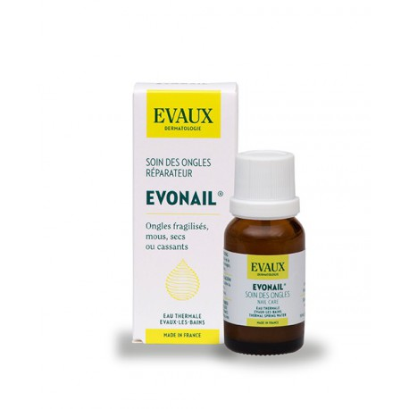 EVONAIL Solution hydrophile - Soin réparateur de l'ongle